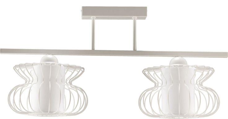 Lampa sufitowa VALERIA 2 z abażurem w stylu industrialnym dostępna na naszej stronie www.przystojnelampy.pl   #lampa #sufitowa #lamp #lamps #lampy #oświetlenie #styl #industrialny #industrial