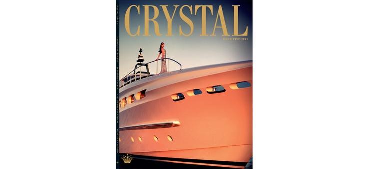 viviens creative management - Stef King - advertising Crytstal magazine Crown/Burswood