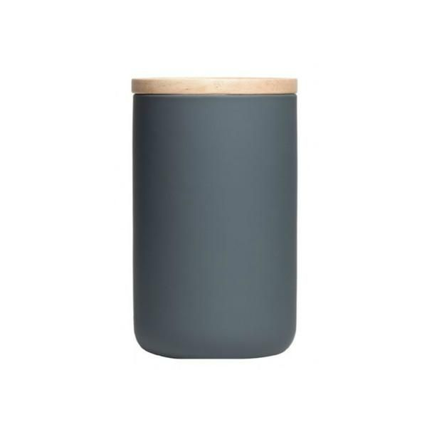 Kitchen Canister - Tall, Matte Grey