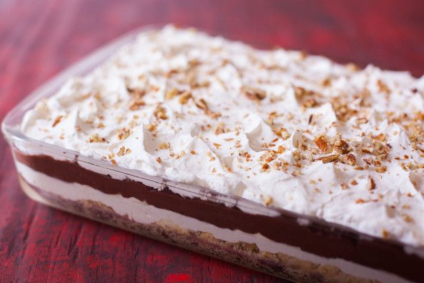 Make and share this Four Layer Delight recipe from Food.com.