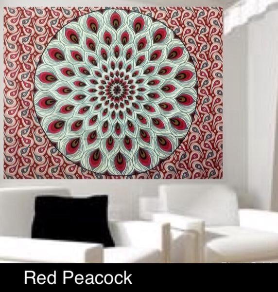Jual Beli Mandala Merak Motif - 120x180cm Baru | Peralatan Dekorasi Rumah Murah |  Bukalapak