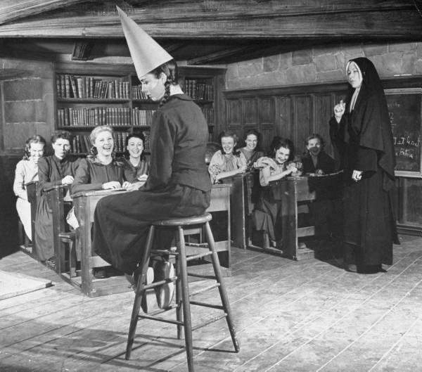 """Dunce comes from the name of John Duns Scotus, a Scholastic whose followers were called """"duns"""" or """"dunsmen"""". Duns Scotus wrote treatises on grammar, logic, and metaphysics widely used in the medieval British universities. As the English Renaissance began and the new learning superseded Duns theories, his adherents obstinately refused to acquiesce. The word dunce then began to be used by humanists to ridicule the Scholastics. modern meaning of someone who stubbornly refuses to learn anything…"""
