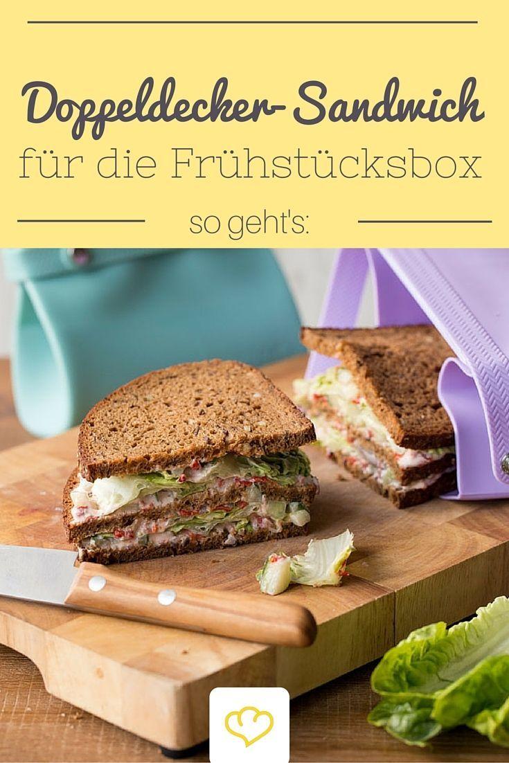 Leckeres Doppeldecker-Sandwich für den großen Hunger!