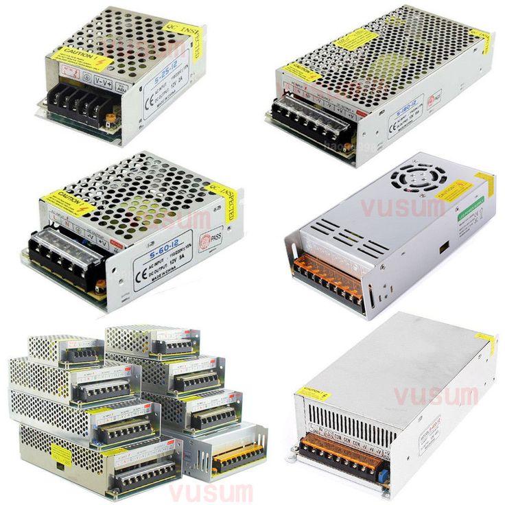 12 فولت الصمام محول إمدادات الطاقة التبديل محول ac 110 فولت-220 فولت إلى dc 12 فولت 2a 3a 5a 10a 20a 30a 40a 60a سائق ل led قطاع أضواء