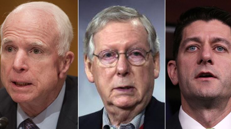 See where top GOP politicians stand on President Trump's executive actions.