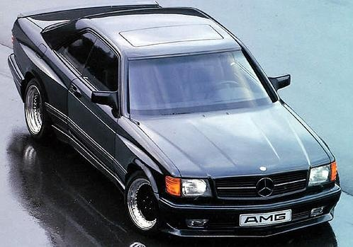W126 500 SEC AMG HAMMER.  .... One day ... this one is on the list