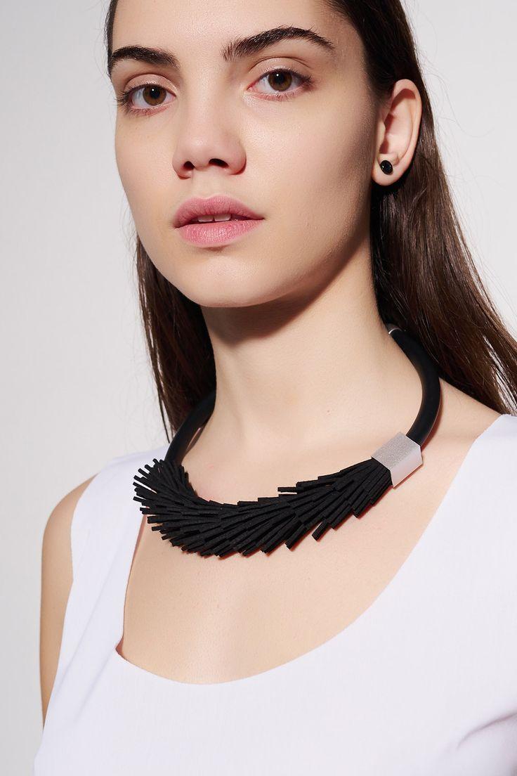 CHRISTINA BRAMPTI - TORNADO NECKLACE #christinabrampti #tornado #necklace #handmade #fashion #jewellery