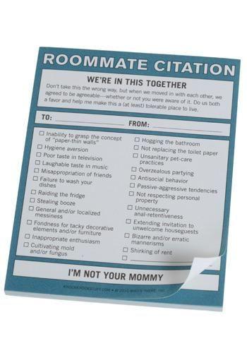 ladylike laws roommate rules
