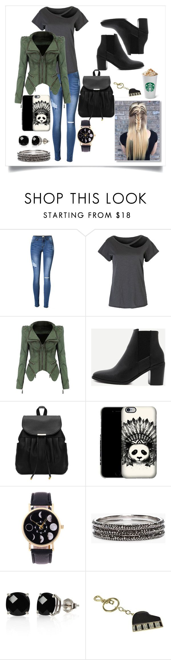 """""""Today's Outfit"""" by iz-so-kray-kray ❤ liked on Polyvore featuring WithChic, Chico's, Belk & Co. and Kate Spade"""