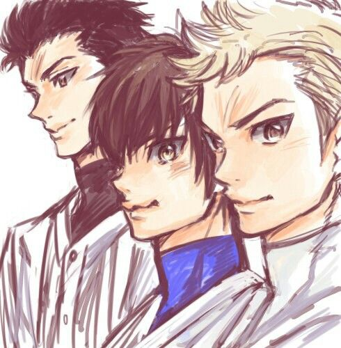 Путь Аса Вики: Pitchers: Sanada , Sawamura And Mei