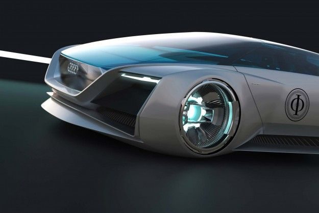 Audi Designs Futuristic Car For Ender's Game Movie [Pics]