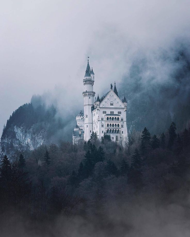 A obscure kingdom, Neuschwanstein Castle by Andrea Caprini