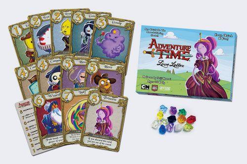 Love Letter. Adventure Time – распечатай и играй - Настольные игры: Nастольный Blog - Всё о настольных играх на русском языке
