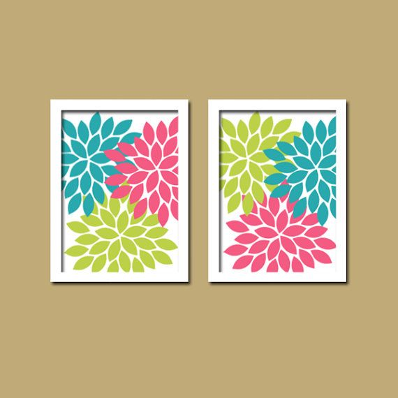 Pink And Green Bathroom Accessories - decorating white bathroom ...