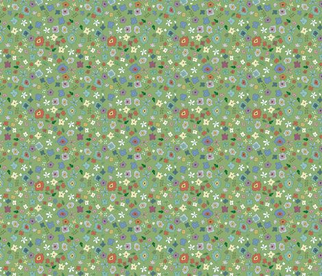 PRAIRIE fabric by ex-m on Spoonflower - custom fabric