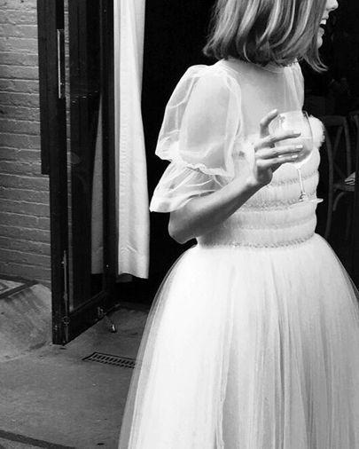 Model Agyness Deyn married Joel McAndrew in Brooklyn