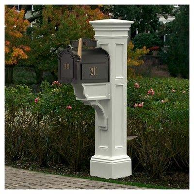 Liberty Mail Post - White - Mayne