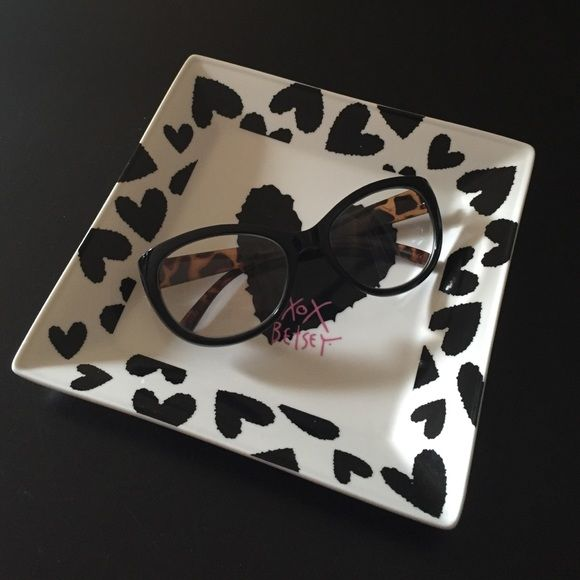 Betsey Johnson Readers Black Frames Glasses 1.50 New without tags. Authentic, no case. Betsey Johnson Accessories Glasses