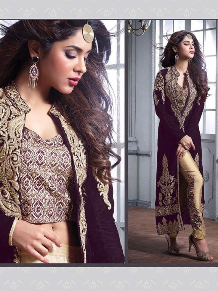 Anarkali Salwar Kameez Shalwar Indian Bollywood Party Wear Velvet Dress Material #Shoppingover #SalwarKameez