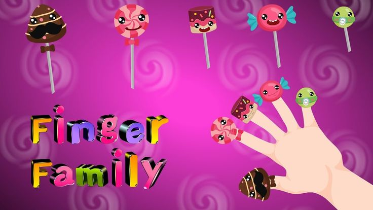 Lollipop finger family | Candy Finger Family | Daddy Finger Song  | Kids...