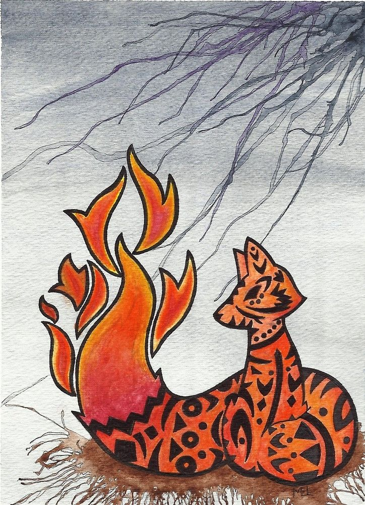 She also as a Facebook page to follow her art. https://www.facebook.com/watercoloroutbreak