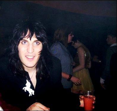 Noel, unicorn necklace. :)