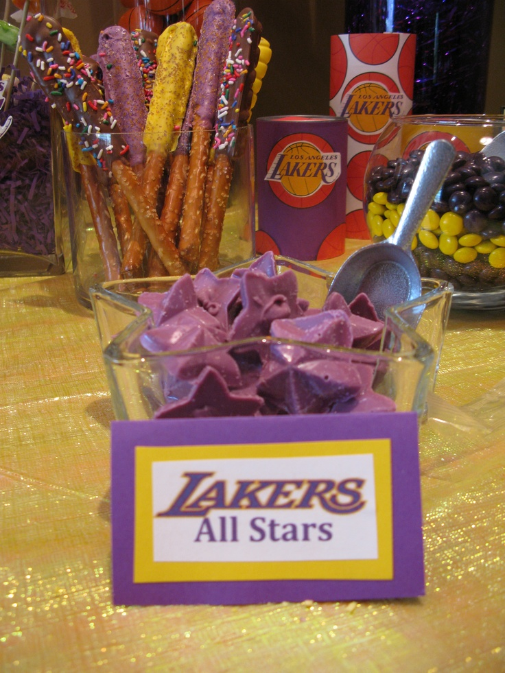 lakers star candies