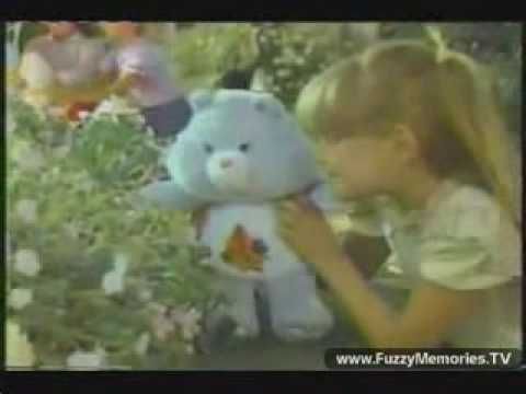 Fergie (Stacy Ferguson) in a classic Care Bears commercial!