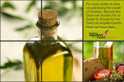 Beyond the Olive store in Old Town Pasadena.  You can taste different olive oils and balsamic vinegars.