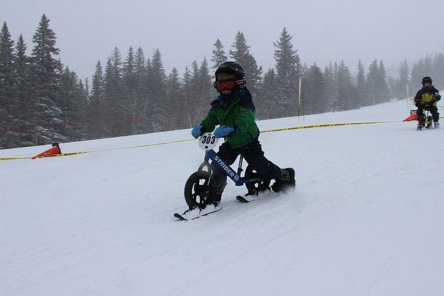 2nd Annual STRIDER Snow Cup | Flickr - Photo Sharing!  Strider Snow - płozy do rowerka biegowego Strider. http://www.aktywnysmyk.pl/akcesoria-do-rowerkow-strider/1179-plozy-do-rowerka-biegowego-strider.html