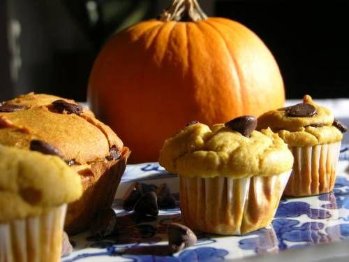Ricette per bambini: Muffin Vegan alla Zucca e Cioccolato