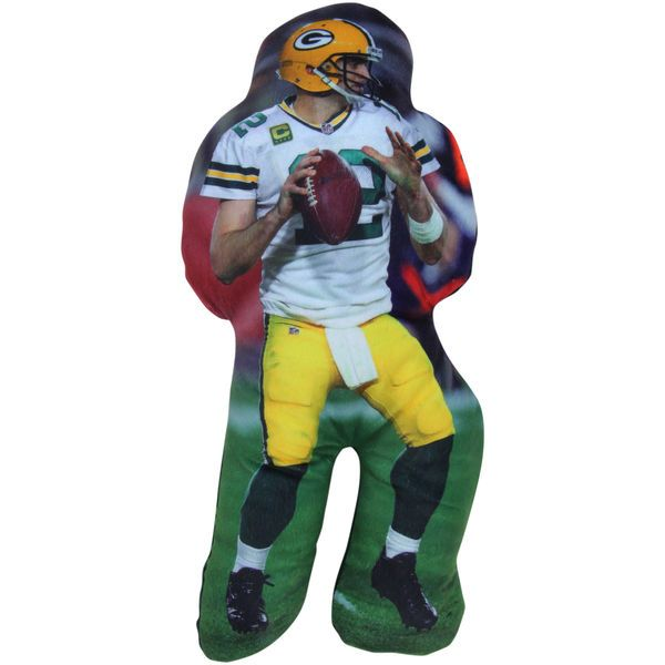 Aaron Rodgers Green Bay Packers Player Printed Pillow - $8.99