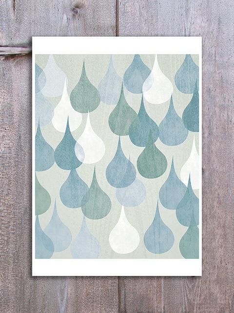 rain drops...