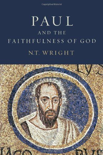 Paul and the Faithfulness of God by N. T. Wright. Explores the whole context of Paul's thought and activity— Jewish, Greek and Roman, cultural, philosophical, religious, and imperial— and shows how the apostle's worldview and theology enabled him to engage with the many-sided complexities of first-century life that his churches were facing.: Worth Reading, Book Worth, Faith, Apostle Paul, Book Review, God Christian, Doce Paul, Christian Originals, Christmas Lists