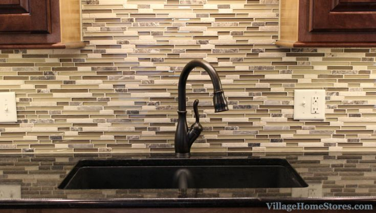 Mosaic Tile Backsplash By Pietra Art In Quot Cappuccino Linear