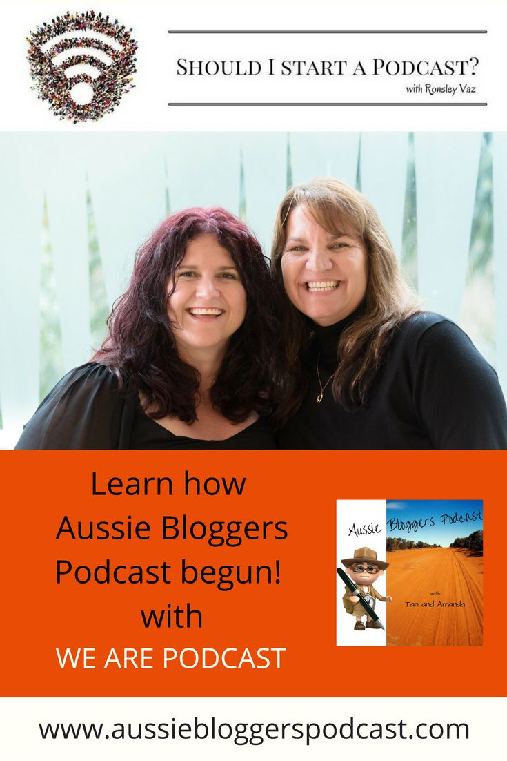 We Are Podcast interviewed @tanfromaus and @amandaghoffmann from Aussie Bloggers Podcast to learn how our podcast begun and why we are so passionate about Aussie Bloggers https://audioboom.com/boos/5127467-54-i-was-inspired-to-start-a-podcast-with-tanja-amanda
