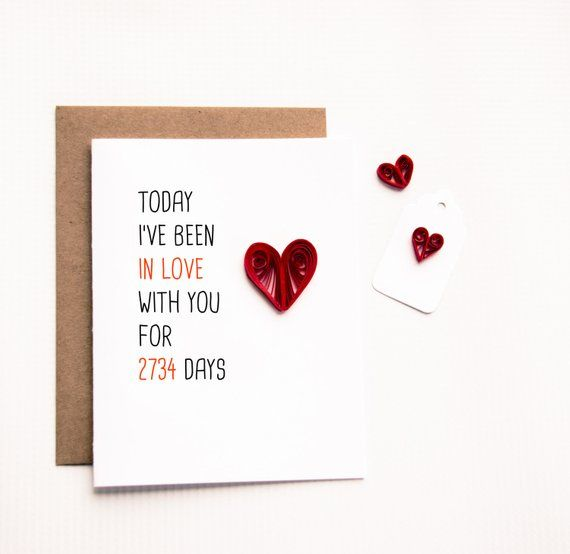Greeting Card Today I Ve Been In Love With You Days Long