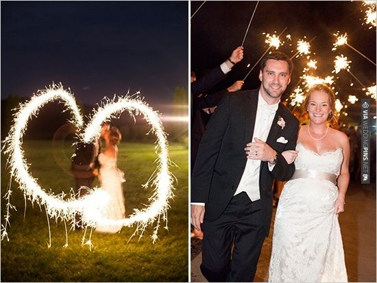 sparklers exit   CHECK OUT MORE IDEAS AT WEDDINGPINS.NET   #weddings #weddinginspiration #inspirational