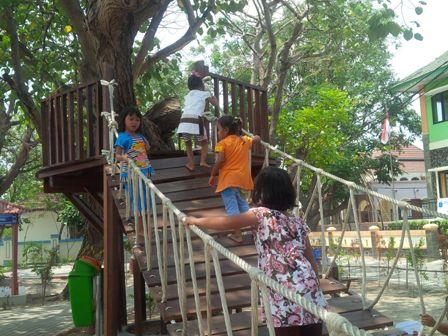 Rumah Pohon Menjadi Tempat Favorit Ngabuburit
