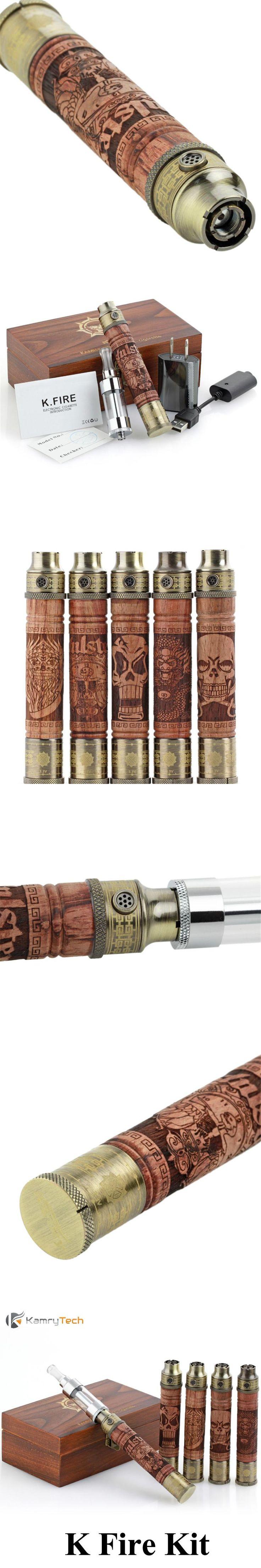 Electronic Cigarette Vape Pen Original Kamry K Fire Kit Wood Skull X Fire 2 Ego Vaporizer Dragon Ghost EVOD E Cigarette  X2026