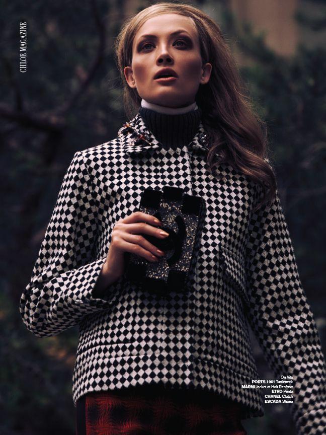 #CHLOEmagazine #MARNI #CHANEL Photo Matthew Lyn Styled by #AmarsanaGendunova Hair Rafael Estrella Dunn Makeup Dylan K Hudson #editorial #fashion #style #look