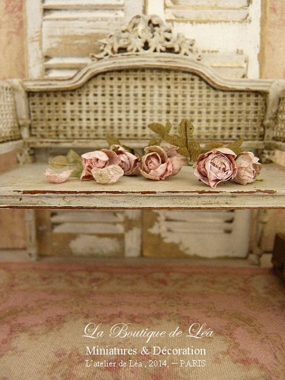 214 best images about Shabby chic Miniature