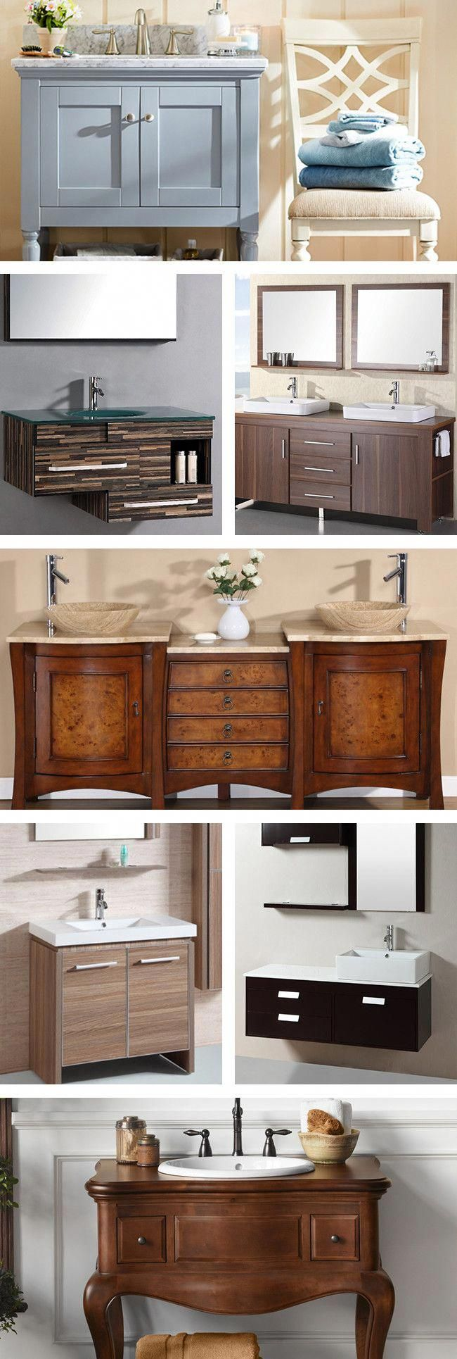 Purchasing a bathroom vanity for your home can help you redesign
