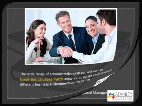 ▶ Opportunities in taking up Business Courses Perth - YouTube