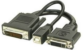 LINDY 0.2M DVI & USB to P (M1-DA, EVC) Adapter Cable | SN Technology Cape Town