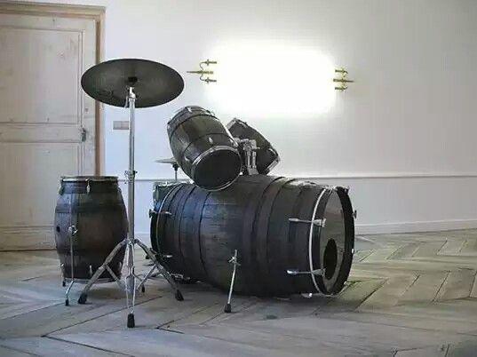 ... Wine Barrel Drum Kit ...
