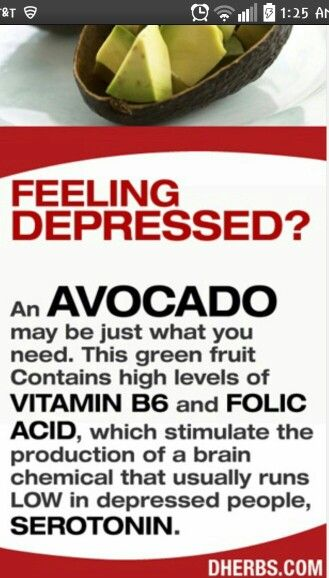 The power of the AVOCADO I incorporate a half one in my shake now! Lets stop depression together. http://pemg.myvi.net