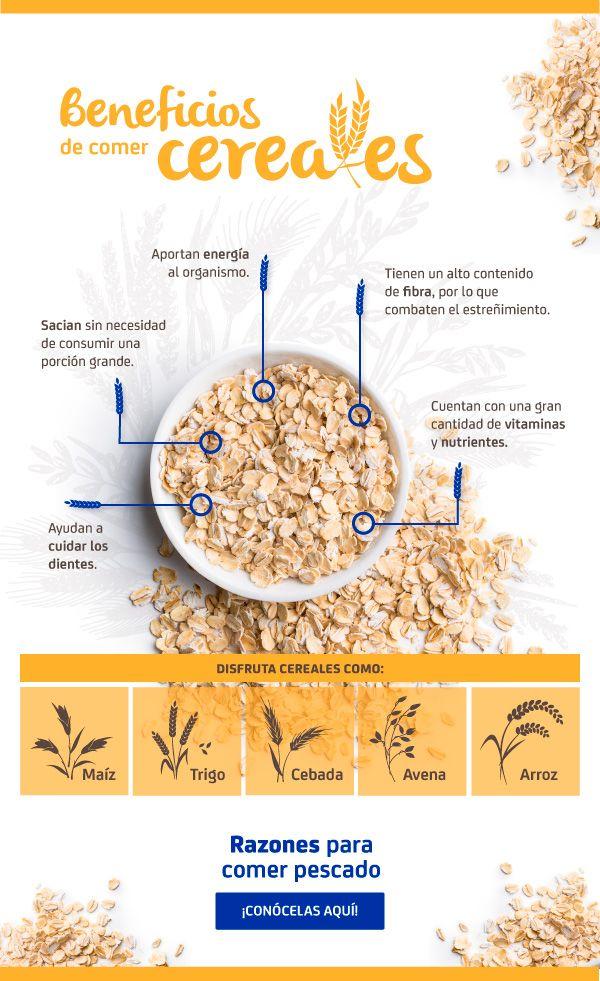 cereales de dieta saludable
