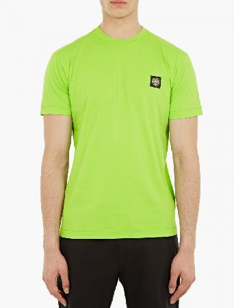 Stone Island Green Logo-Patch T-Shirt The Stone Island Logo-Patch T-Shirt for SS16, seen here in green. - - - This t-shirt from Stone Island is crafted from wonderfully soft cotton and features a distinctive logo patch to the chest. - - - http://www.MightGet.com/january-2017-13/stone-island-green-logo-patch-t-shirt.asp