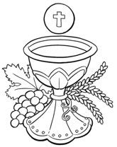 First Communion Chalice and Host